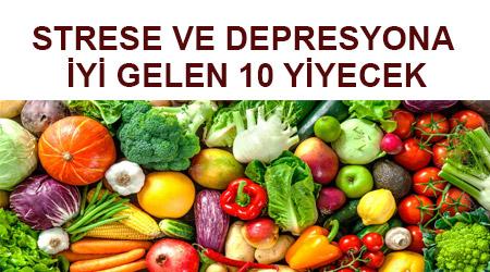 Strese iyi gelen besinler